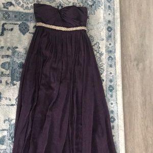 Jenny Yoo Collection eggplant long dress